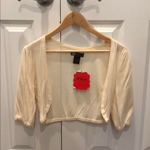 Tops - Cropped cardigan